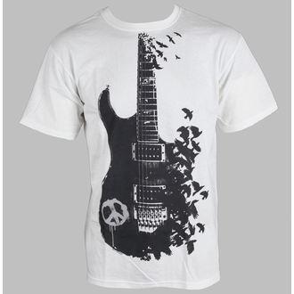 tričko pánské Music - Crow Guitar - LIQUID BLUE, LIQUID BLUE