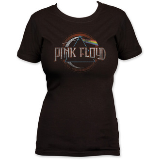tričko dámské Pink Floyd - Dark Side of the Moon seal - Black - IMPACT, IMPACT, Pink Floyd