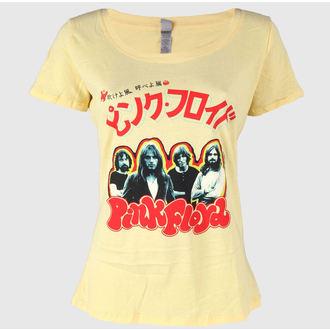 tričko dámske Pink Floyd - Japan Tour 1972 - Banana Cream - IMPACT, IMPACT, Pink Floyd