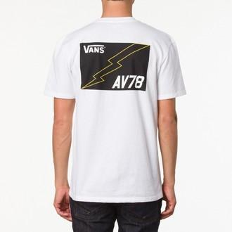 4218088b98b tričko dámske VANS - G Distressed America - Grey Heather · tričko pánske  VANS - AV78 pocket Tee - White