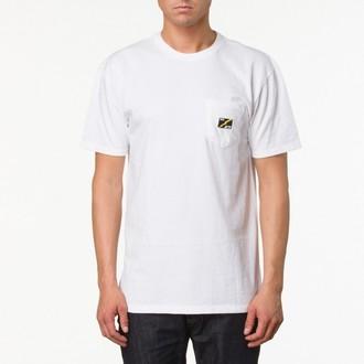 tričko pánske VANS - AV78 pocket Tee - White, VANS