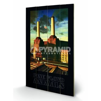 drevený obraz Pink Floyd - Animals - Pyramid Posters, PYRAMID POSTERS, Pink Floyd