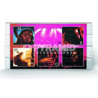 drevený obraz Pink Floyd - Live - Pyramid Posters, PYRAMID POSTERS, Pink Floyd