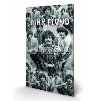 drevený obraz Pink Floyd - Piper - Pyramid Posters, PYRAMID POSTERS, Pink Floyd