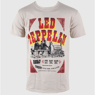 tričko pánske Led Zeppelin - Earls Court Tickets - LIVE NATION, LIVE NATION, Led Zeppelin