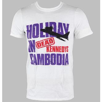 tričko pánske Dead Kennedys - Cambodia - White - LIVE NATION, LIVE NATION, Dead Kennedys