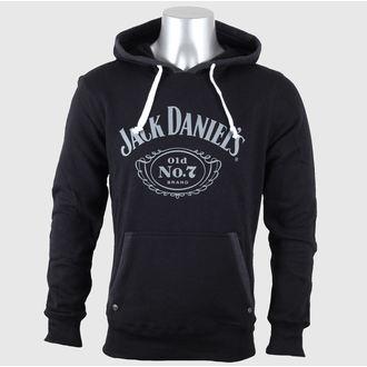 mikina pánska Jack Daniels - Old No. 7 - Black - BIOWORLD, JACK DANIELS