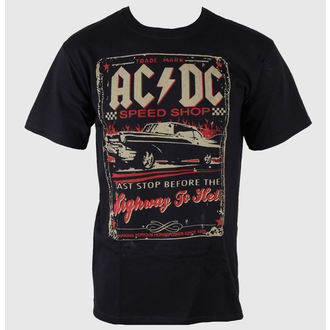 tričko pánske AC/DC - Speedshop - LIQUID BLUE, LIQUID BLUE, AC-DC