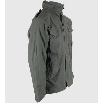 bunda pánska jarno-jesenná M65 Fieldjacket NYCO washed - OLIV, BOOTS & BRACES