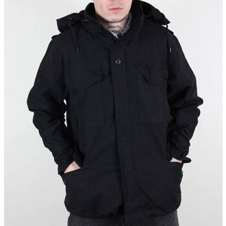 bunda pánska jarno-jesenná M65 Fieldjacket NYCO washed - BLACK, MMB