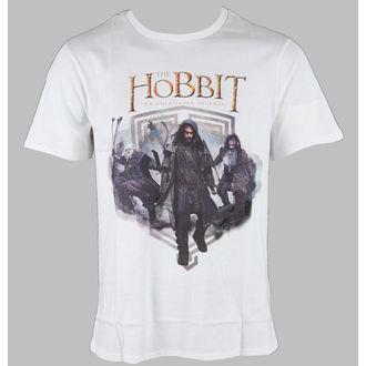 tričko pánske The Hobit - Balin & Kili & Bifur - White - HOBTS-1208-BLANCL