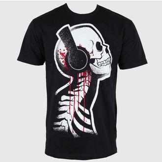 tričko pánske Akumu Ink - Black Tee - 4TM09