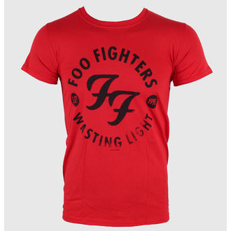 tričko pánske Foo Fighters - Wasting Time Red - LIVE NATION, LIVE NATION, Foo Fighters