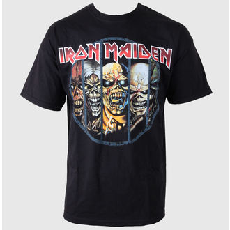 tričko pánske Iron Maiden - Eddie Candle - IMTEE02MB02, ROCK OFF, Iron Maiden