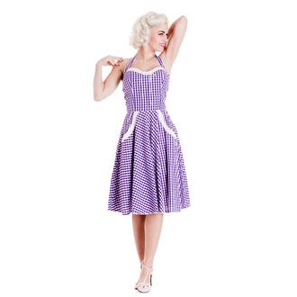 šaty dámske HELL BUNNY - Charlotte - Lavndr, HELL BUNNY