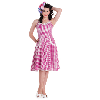 šaty dámske HELL BUNNY - Charlotte - Pink, HELL BUNNY