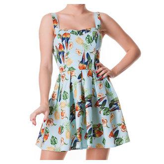 šaty dámske HELL BUNNY - Becky - Blue