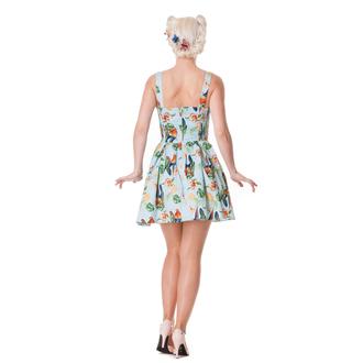 šaty dámske HELL BUNNY - Becky - Blue, HELL BUNNY
