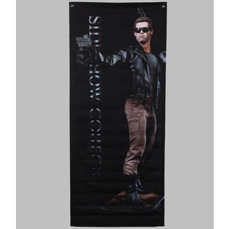 vlajka (banner) Terminator - T-800 - 76x183, NNM