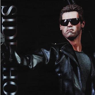 vlajka (banner) Terminator - T-800 - 64x152, NNM