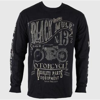 tričko pánske s dlhým rukávom LUCKY 13 Black Mule, LUCKY 13