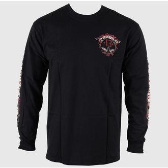 tričko pánske s dlhým rukávom LUCKY 13 - Motor Skull, LUCKY 13