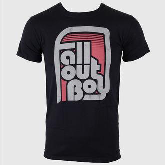 tričko pánske Fall Out Boy - Retro Black - LIVE NATION - PE10259TSB