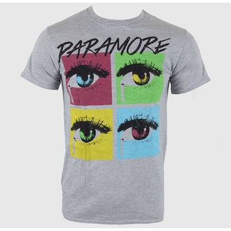 tričko pánske Paramore - Pop Tear Sports Grey - LIVE NATION, LIVE NATION, Paramore