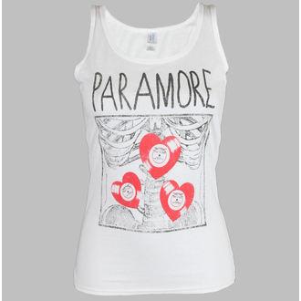 tielko dámske Paramore - X Ray White - LIVE NATION, LIVE NATION, Paramore