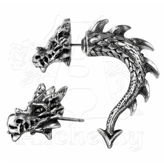 náušnice Tor Dragon - ALCHEMY GOTHIC - E324