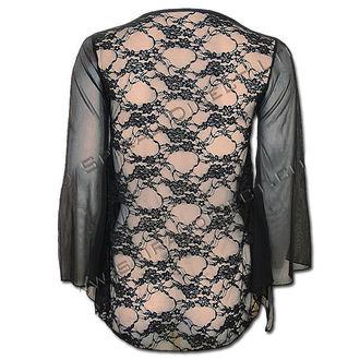 tričko dámske s dlhým rukávom SPIRAL - Goth Cross