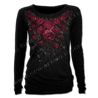 tričko dámske s dlhým rukávom SPIRAL - Blood Rose, SPIRAL