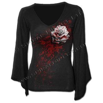 tričko dámske s dlhým rukávom SPIRAL - White Rose - DW199292