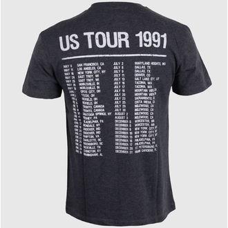 tričko pánske AMPLIFIED - Guns N' Roses - Tour 91 Faded - Black, AMPLIFIED, Guns N' Roses
