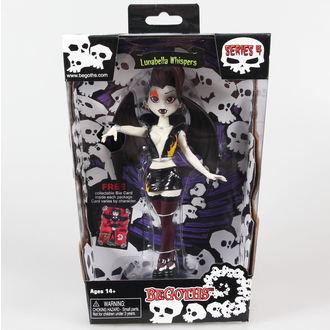 figúrka Goth Silver Spring Fashion Doll Lunabella - Purple