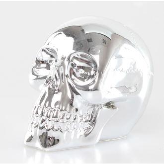 dekorácia Chrome Skull - NEM6689