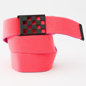 opasok VANS - G Restrained Web Bel - Neon Red/Neon Purple, VANS