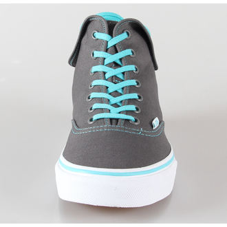 topánky VANS - U Authentic Hi 2 - pewter/scuba blue, VANS