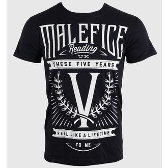 tričko pánske Malefice - Five Years - LIVE NATION, LIVE NATION, Malefice
