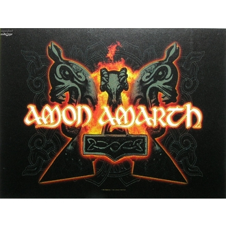 vlajka Amon Amarth - Hammers, HEART ROCK, Amon Amarth