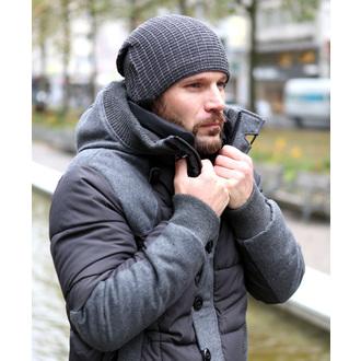 čiapka BRANDIT - JOHN Ajour-knit