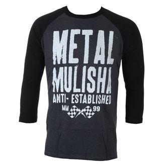 tričko pánske s 3/4 rukávom METAL MULISHA - FIRST RAGLAN L/S, METAL MULISHA