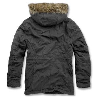 bunda pánska zimný BRANDIT - Vintage Explorer Black, BRANDIT