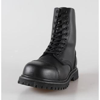 topánky kožené 10dírkové BRANDIT - Phantom Black, BRANDIT