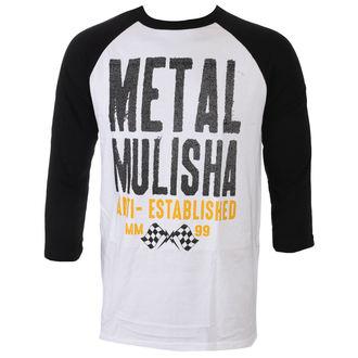 tričko pánske s 3/4 rukávom METAL MULISHA - FIRST RAGLAN, METAL MULISHA