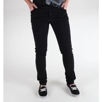 nohavice (unisex) 3RDAND56th - Hipster Slim Fit - Black, 3RDAND56th