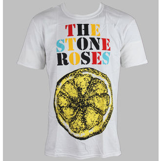 tričko pánske Stone Roses - Logo Lemon Multicolour - ROCK OFF, ROCK OFF, Stone Roses