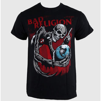 tričko pánske Bad Religion - Skull - Black - LIVE NATION, LIVE NATION, Bad Religion