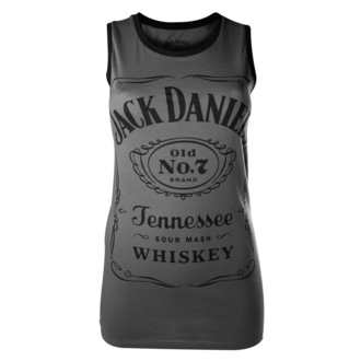 tielko dámske Jack Daniels - Charcoal - BIOWORLD, JACK DANIELS