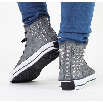 topánky dámske CONVERSE - Chuck Taylor AS Collar Studs - Black, CONVERSE